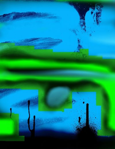 iPhone drip painting no. 19 (2016)