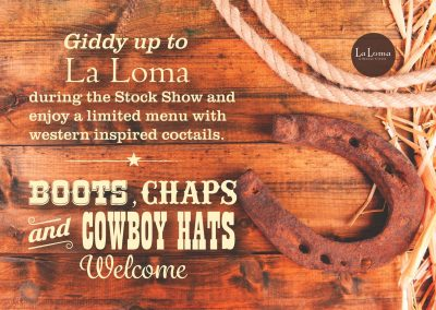 Stock Show Flyer